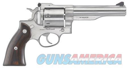 "Ruger 5060 Redhawk  357 Mag 5.50"" 8 Round Hardwood Grip Satin Stainless  Guns > Pistols > Ruger Double Action Revolver > Redhawk Type"