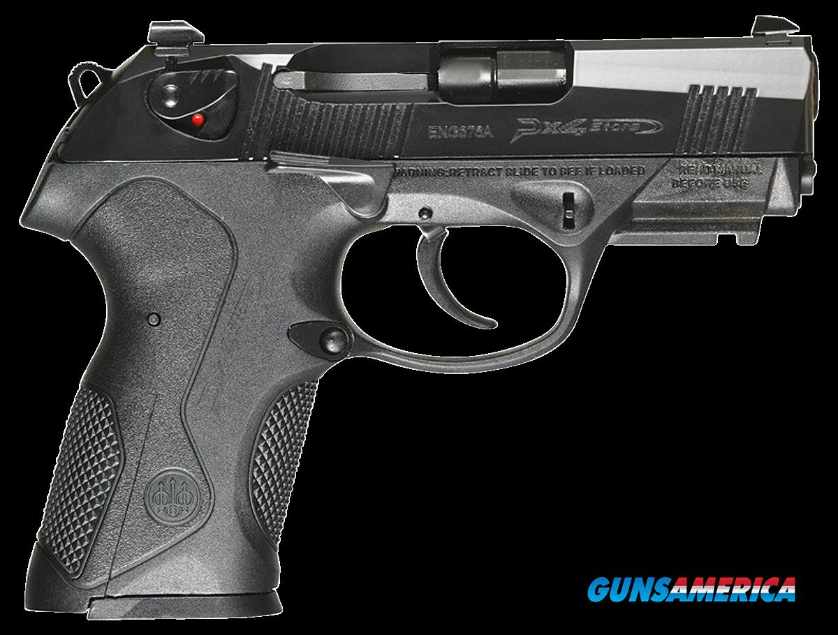 "Beretta USA JXC9GEL Px4 Storm Compact Carry Single/Double 9mm Luger 3.2"" 15+1 Black Polymer  Guns > Pistols > B Misc Pistols"