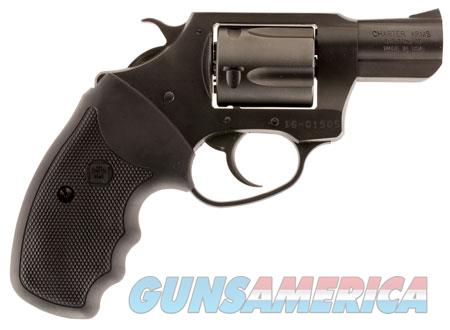 """Charter Arms 63820 Undercover   Revolver Single/Double 38 Special 2"""" 5 Rd Black Rubber Grip Black  Guns > Pistols > Charter Arms Revolvers"""