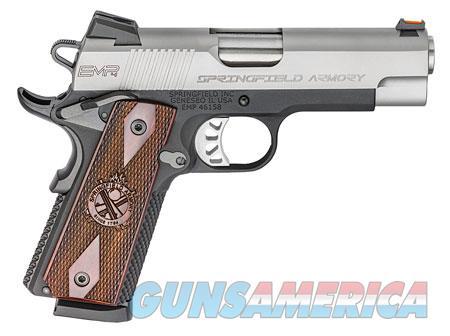 "Springfield Armory PI9209L 1911 EMP 9mm Luger Single 3"" 9+1 Cocobolo Grip Black Hardcoat Anodized  Guns > Pistols > S Misc Pistols"