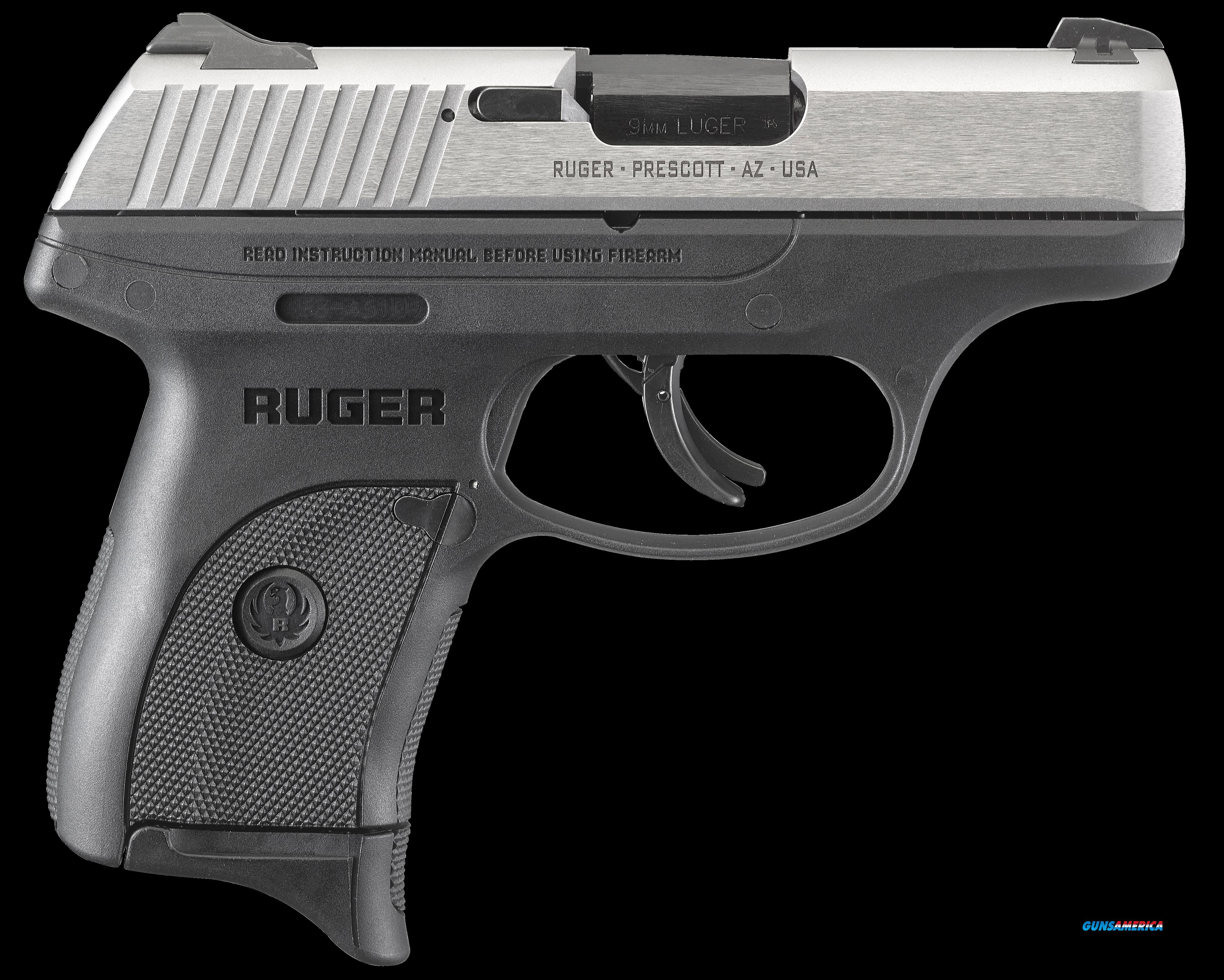 "Ruger 3273 LC9s Standard Double 9mm Luger 3.12"" 7+1 Black Polymer Grip/Frame Grip Stainless  Guns > Pistols > R Misc Pistols"