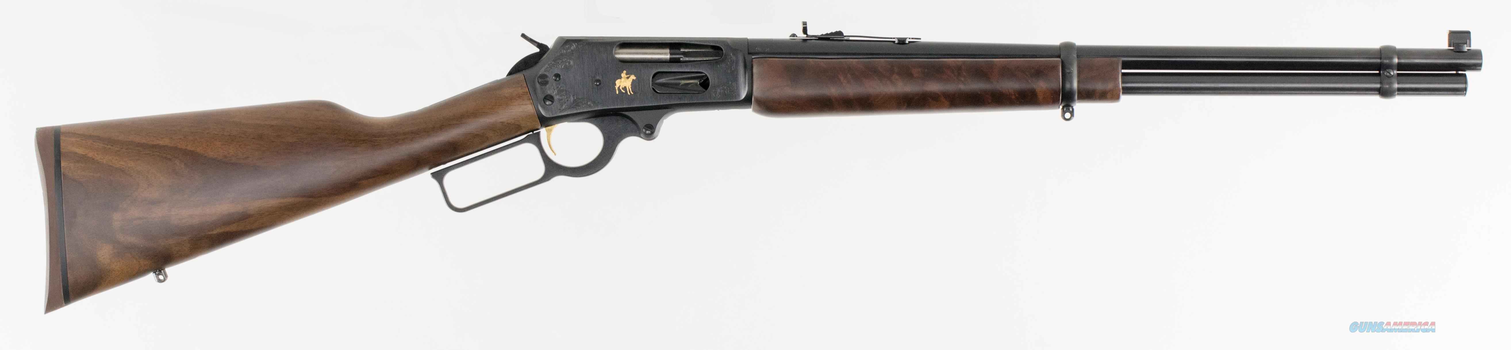 "Marlin 70534 336 Texan Deluxe Lever 30-30 Winchester 20"" 6+1 American Black Walnut Stk Blued  Guns > Rifles > MN Misc Rifles"