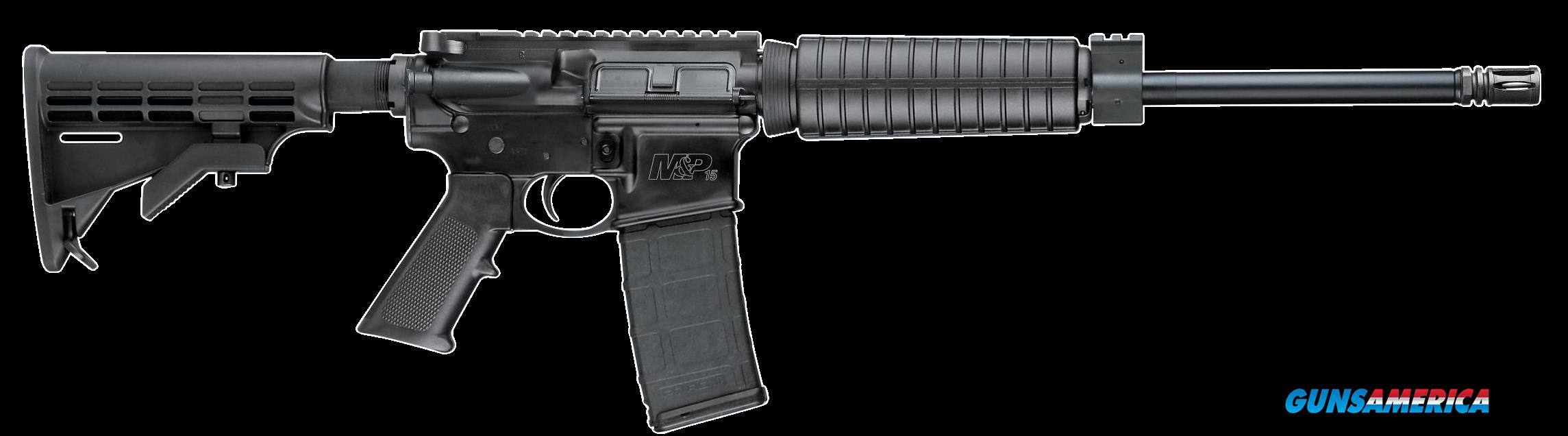 "Smith & Wesson 10159 M&P15 Sport II Semi-Automatic 223 Remington/5.56 NATO 16"" 30+1 6-Position Black  Guns > Rifles > S Misc Rifles"