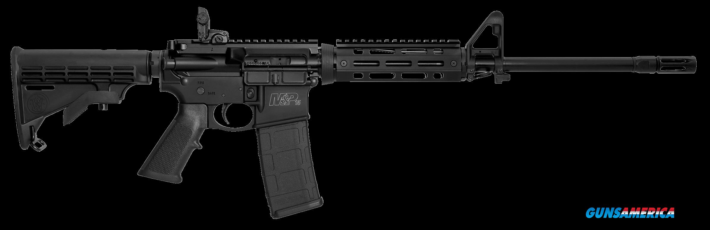 "Smith & Wesson 11535 M&P15 X Semi-Automatic 223 Remington/5.56 NATO 16"" 30+1 6-Position Black Stk  Guns > Rifles > S Misc Rifles"