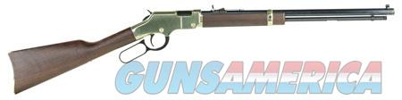 """Henry H004 Golden Boy   Lever 22 Short/Long/Long Rifle 20"""" 16 LR/21 Short American Walnut Stk Brass  Guns > Rifles > Henry Rifles - Replica"""