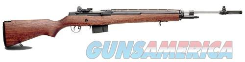 Springfield Armory M1A LOADED 22 308WIN SS/WD STAINLESS BBL/WALNUT STOCK  Guns > Rifles > S Misc Rifles