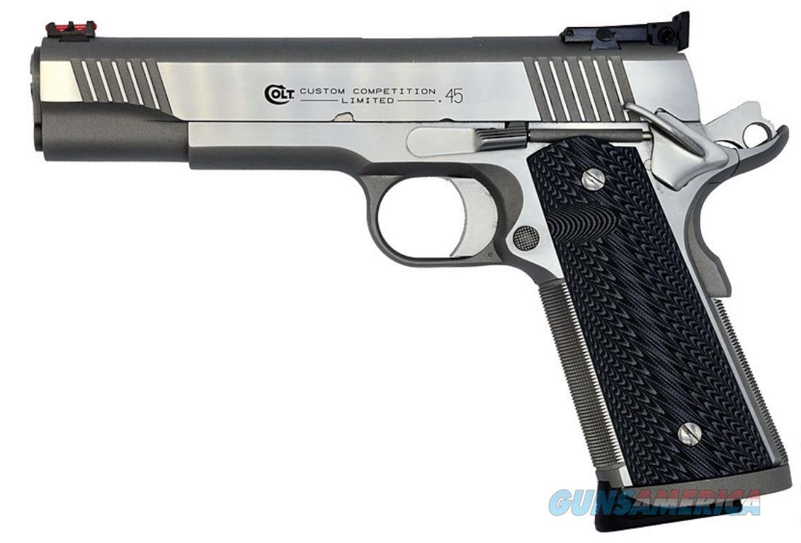 Colt CUSTOM COMP SER70 45ACP SS 8+1 SERIES 70 CUSTOM COMPETITION  Guns > Pistols > C Misc Pistols