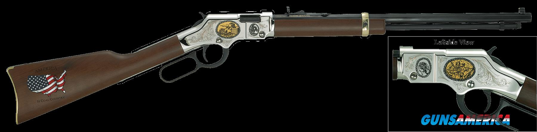 "Henry H004CM2 Golden Boy Coal Miner Tribute II Lever 22 Short/Long/Long Rifle 20"" 16 LR/21 Short  Guns > Rifles > H Misc Rifles"