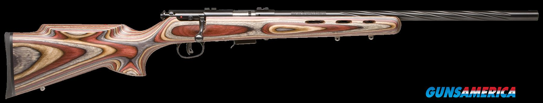 "Savage 96770 93R17 BRJ Bolt 17 HMR 21"" 5+1 Laminate Multi-Color Stk Blued  Guns > Rifles > Savage Rifles > Accutrigger Models > Sporting"