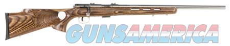 "Savage 96200 93R17 BTVSS Bolt 17 HMR 21"" 5+1 Laminate Thumbhole Brown Stk Stainless Steel  Guns > Rifles > Savage Rifles > Accutrigger Models > Sporting"