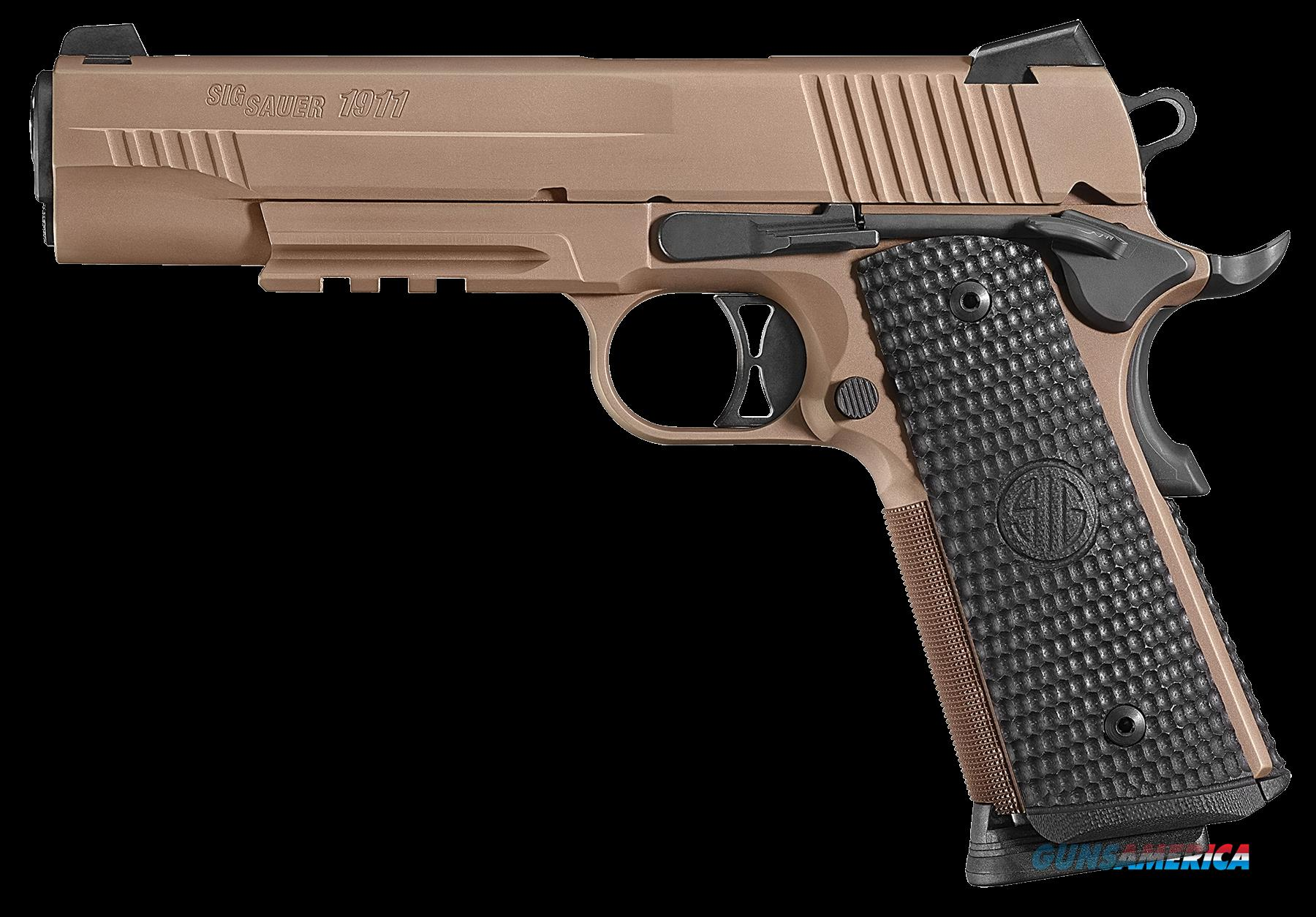 "Sig Sauer 1911R45ESCPN 1911 Full Size Emperor Scorpion Single 45 Automatic Colt Pistol (ACP) 5"" 8+1  Guns > Pistols > Sig - Sauer/Sigarms Pistols > 1911"