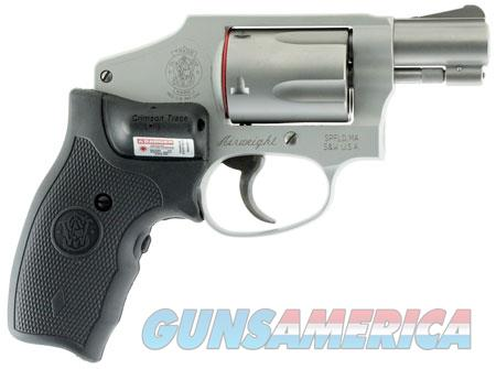 """Smith & Wesson 150972 642 Airweight Double 38 Special 1.875"""" 5 rd Black Synthetic Crimson Trace  Guns > Pistols > Smith & Wesson Revolvers > Pocket Pistols"""