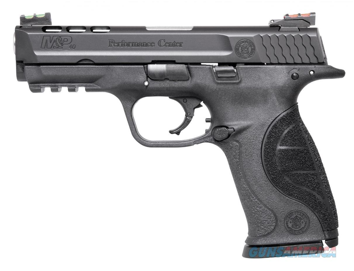Smith and Wesson MP40 40SW PC PORTED 4.25 AS 10219|15+1|FIBER OPTIC SIGHTS  Guns > Pistols > S Misc Pistols