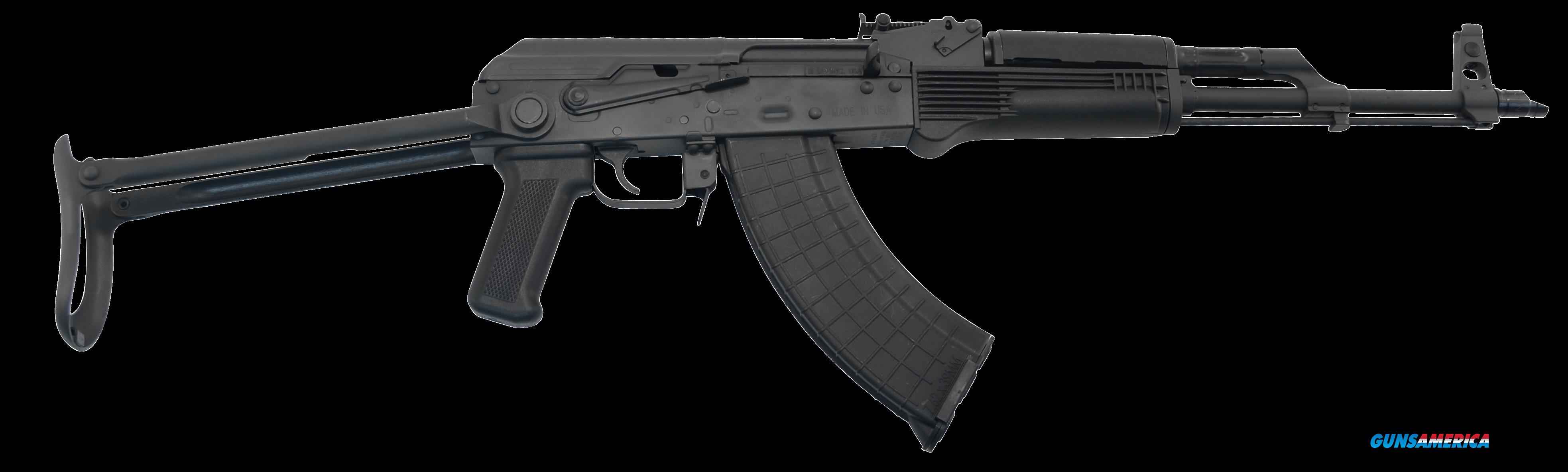 "I.O. IODM2003 AKM247 Tactical Rifle Semi-Automatic 7.62x39mm 16.2"" 30+1 Underfold Synthetic Black  Guns > Rifles > AK-47 Rifles (and copies) > Folding Stock"