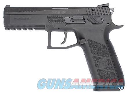 "CZ 91620 P-09 Full Size 9mm Luger Single/Double 4.50"" 19+1 Black Polymer Grip/Frame Grip Black Slide  Guns > Pistols > CZ Pistols"
