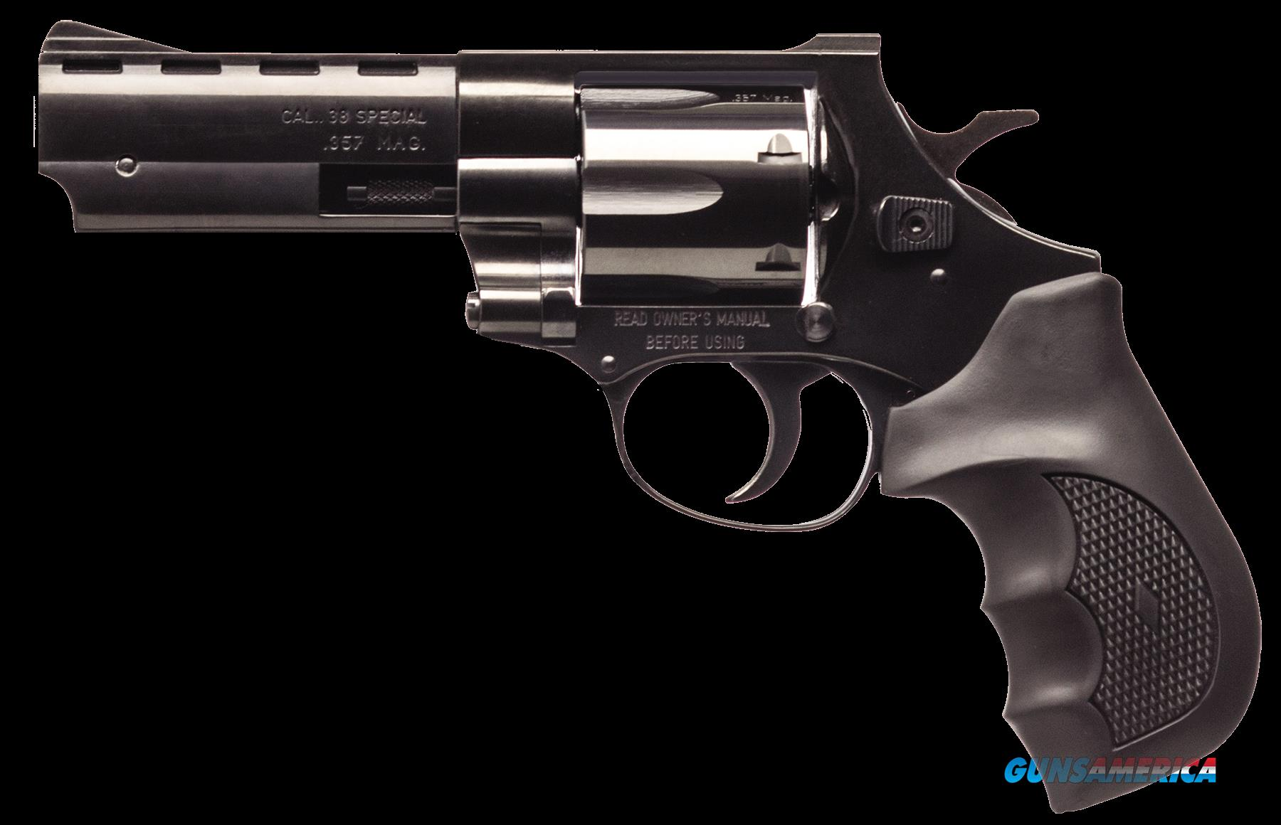 "EAA EARB3574 Windicator Steel Frame Single/Double 357 Magnum 4"" 6 FS Black Rubber Grip Blued  Guns > Pistols > EAA Pistols > Other"