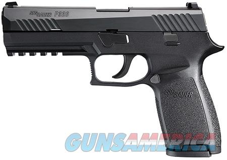 "Sig Sauer 320F9BSS P320 Full Size 9mm Luger 4.70"" 17+1 NS Black Polymer Grip/Frame Grip Black Nitron  Guns > Pistols > Sig - Sauer/Sigarms Pistols > Other"