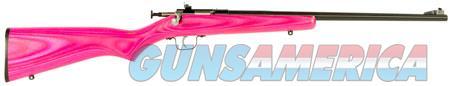 "Crickett KSA2225 Single Shot Bolt 22 Long Rifle (LR) 16.12"" 1 Laminate Pink Stk Blued  Guns > Rifles > Crickett-Keystone Rifles"