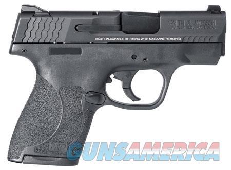 "Smith & Wesson 11807 M&P 9 Shield M2.0 *MA Compliant 9mm Luger 3.10"" 7+1/8+1 Black Polymer  Guns > Pistols > Smith & Wesson Pistols - Autos > Shield"