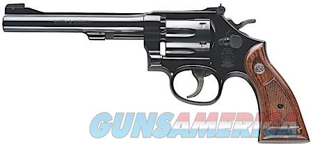 "Smith & Wesson 150477 17 Masterpiece Classic Single/Double 22 Long Rifle (LR) 6"" 6 rd Walnut Grip  Guns > Pistols > Smith & Wesson Revolvers > Full Frame Revolver"