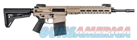 """Barrett REC10 Carbine 308 Win 16"""" 20+1 Flat Dark Earth Cerakote Black Adj Magpul MOE SL Stock  Guns > Rifles > B Misc Rifles"""