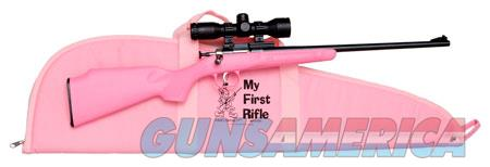 "Crickett KSA2220BSC Crickett Package 22 LR 16.13"" Fixed Stock Pink Right Youth/Compact Hand  Guns > Rifles > Crickett-Keystone Rifles"
