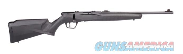 """Savage 70214 B22 Compact Bolt 22 LR 18"""" 10+1 Black Fixed Synthetic Stock Blued Carbon Steel Receiver  Guns > Rifles > Savage Rifles > Rimfire"""