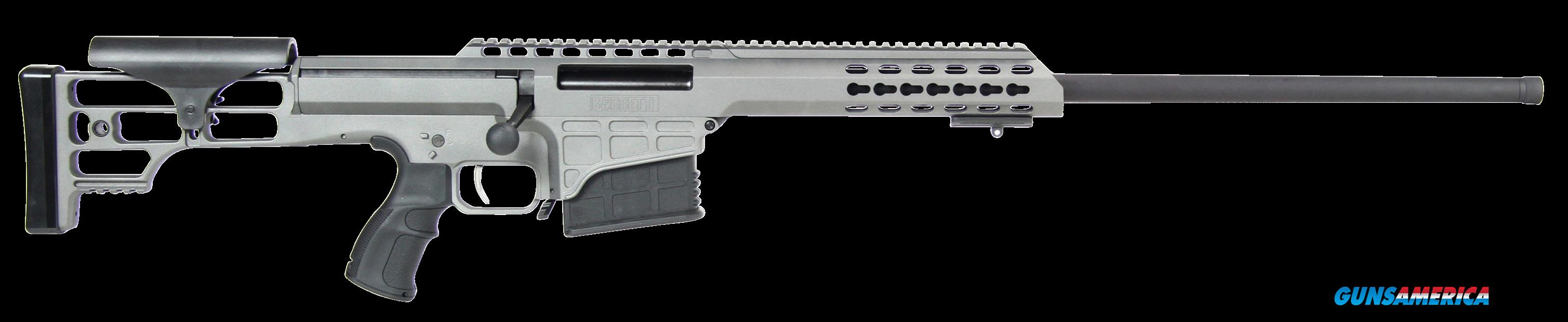 "Barrett 14813 M98B 300 Winchester Magnum 24"" 10+1 Fixed Metal Gray Stk Gray Cerakote  Guns > Rifles > Barrett Rifles"