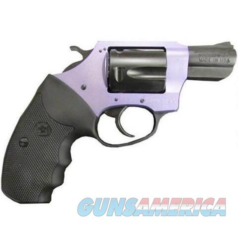 Charter Arms LAVENDER LADY 38SPC BLK/LAV 2 RUBBER GRIPS / 5-SHOT  Guns > Pistols > Charter Arms Revolvers
