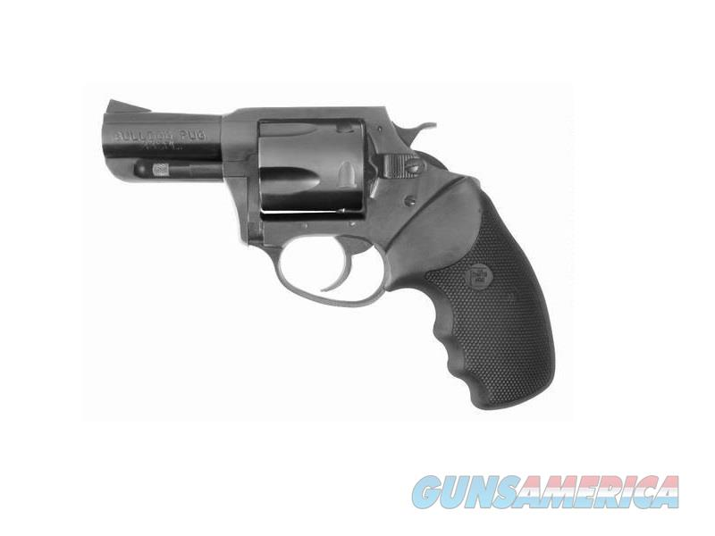 "Charter Arms 64420 Bulldog 44 Special Double 2.5"" 5 Black Rubber Black Nitride  Guns > Pistols > Charter Arms Revolvers"