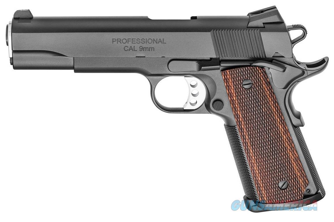Springfield Armory 1911 9MM PRO MOD BLK-T/WD 5 BLACK-T | TRITIUM INSERTS  Guns > Pistols > Springfield Armory Pistols > 1911 Type