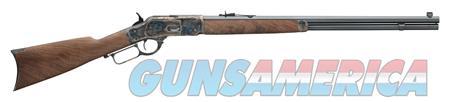 "Winchester Guns 534228141 1873 Sporter Lever 45 Colt (LC) 24"" 14+1 Black Walnut Stk Blued  Guns > Rifles > Winchester Rifles - Modern Lever > Other Lever > Post-64"