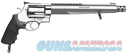 Smith & Wesson 170262 460 Performance Center XVR with Rail Single/Double 460 Smith & Wesson Magnum  Guns > Pistols > Smith & Wesson Revolvers > Full Frame Revolver