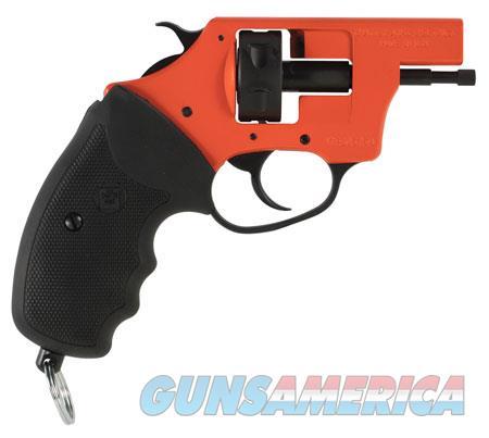 Charter Arms 82090 Pro 209  Starter Pistol 209 Primers 6 rd Black/Orange  Guns > Pistols > Charter Arms Revolvers