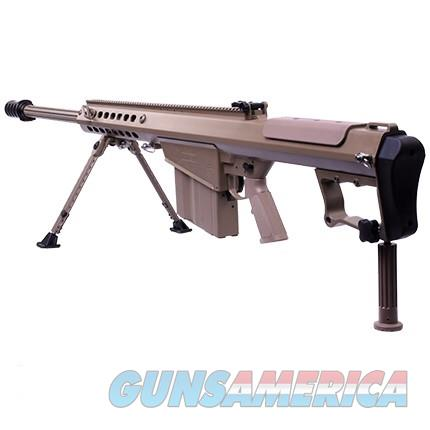 "BARRETT M107A1 Military Deployment Kit 29"" FDE Tool Kit, Cleaning Kit, Spare Parts Kit, 4-10 MAGS  Guns > Rifles > Barrett Rifles"