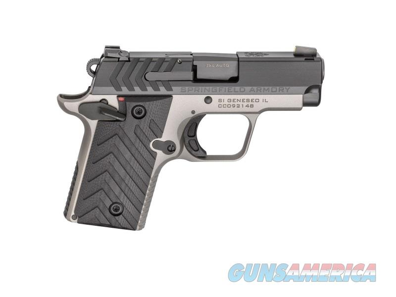 "Springfield Armory PG9109TN 911   380 ACP Single 2.7"" 6+1/7+1 Black G10 Grip Titanium Gray Cerakote  Guns > Pistols > S Misc Pistols"