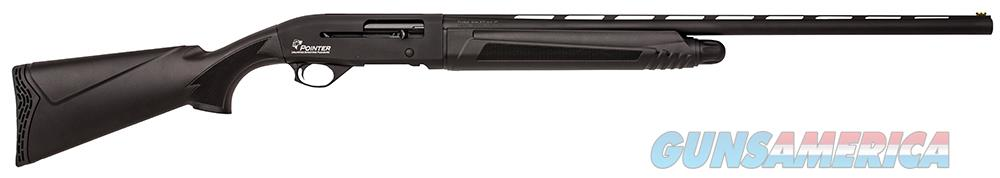 "Pointer ASN00125 Standard Field  Pump 20 Gauge 28"" 1 3"" Black Fixed Synthetic Stock Black Steel  Guns > Shotguns > PQ Misc Shotguns"