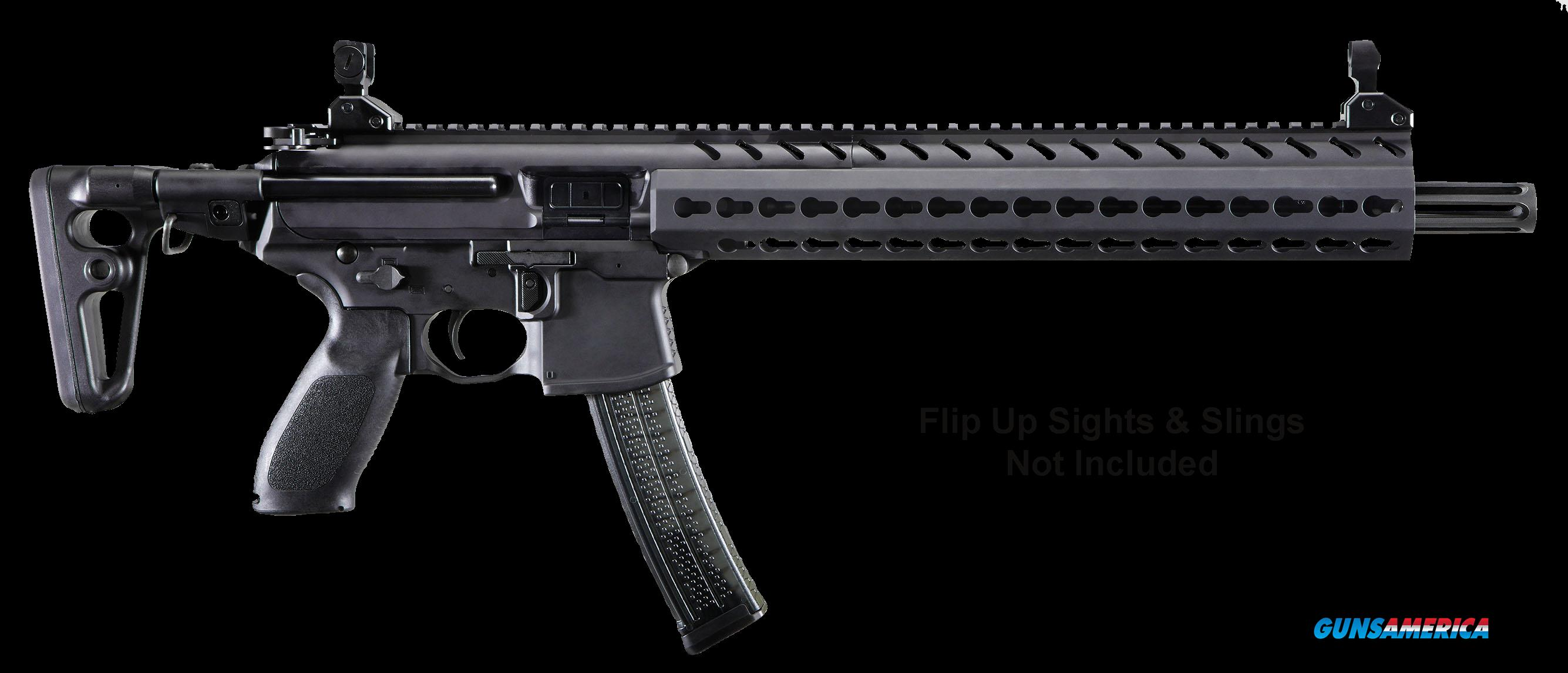 "Sig Sauer MPXC9KMT MPX Carbine Semi-Automatic 9mm Luger 16"" 30+1 Telescoping Black Stk Black Hard  Guns > Rifles > Sig - Sauer/Sigarms Rifles"