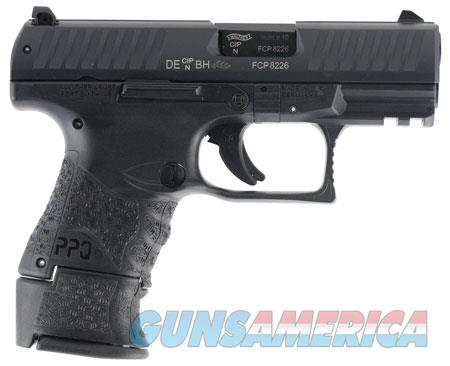 """Walther Arms 2815249 PPQ M2 Subcompact  9mm Luger Single 3.5"""" 15+1/10+1 Black Interchangeable  Guns > Pistols > Walther Pistols > Post WWII > P99/PPQ"""