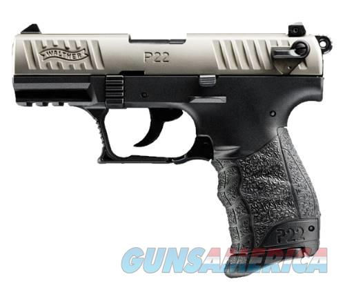 Walther Arms P22 22LR 10+1 3.4 NICKEL   Guns > Pistols > W Misc Pistols