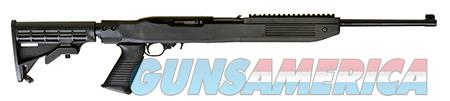 "Ruger 1219 10/22   Semi-Automatic 22 Long Rifle (LR) 16.6"" 10+1 6-Position Tapco Black Stk Blued  Guns > Rifles > Ruger Rifles > 10-22"