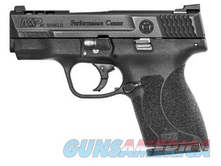"Smith & Wesson 11727 M&P 45 Shield Ported Performance Center 45 ACP Double 3.3"" 6+1/7+1 Black  Guns > Pistols > S Misc Pistols"