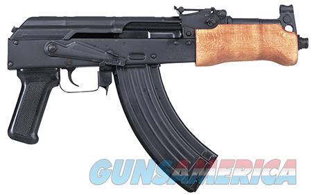 "Century HG2137N Draco Mini AK Pistol Semi-Automatic 7.62X39mm 7.5"" 30+1 Black  Guns > Pistols > Century International Arms - Pistols"