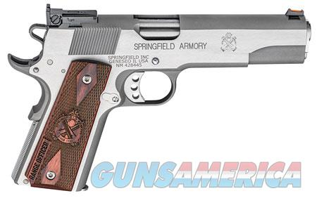 "Springfield Armory PI9124L 1911 Range Officer 45 ACP Single 5"" 7+1 Cocobolo Grip Stainless Steel  Guns > Pistols > S Misc Pistols"