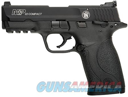 "Smith & Wesson 108390 M&P 22 Compact 22 Long Rifle (LR) 3.50"" TB 10+1 Black Polymer Grip/Frame Grip  Guns > Pistols > Smith & Wesson Pistols - Autos > Polymer Frame"