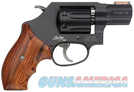 "Smith & Wesson 160228 351 Personal Defense 22 Mag 1.88"" 7 Round Black Stainless Steel Wood Grip  Guns > Pistols > Smith & Wesson Revolvers > Pocket Pistols"