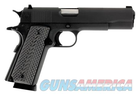 "Llama LM145B 1911 Max-I 45 ACP Single 5"" 8+1 Hardwood Grip Blued Slide  Guns > Pistols > Llama Pistols"