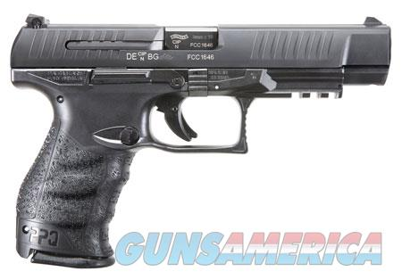 "Walther Arms 2813734 PPQ M2  9mm Luger Double 5"" 15+1 Black Polymer Grip/Frame Grip Black Tenifer  Guns > Pistols > W Misc Pistols"