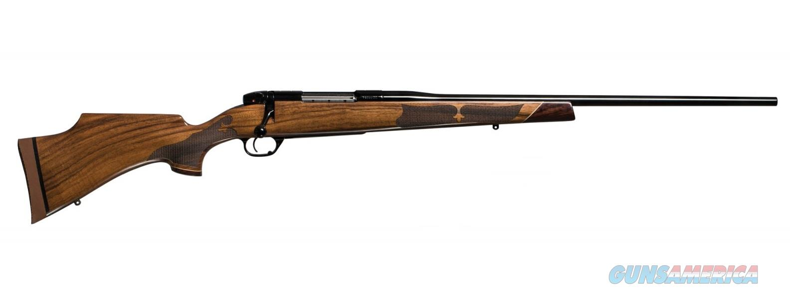Weatherby MARKV CAMILLA 270WIN BL/WD 24 AA GLOSS AMERICAN WALNUT  Guns > Rifles > Weatherby Rifles > Sporting
