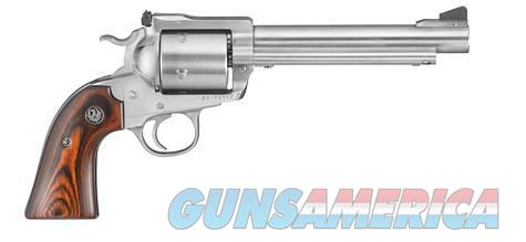 Ruger BISLEY 480RUG SS 6.5 5SH AS 0870 WOOD GRIPS / UNFLUTED CYL  Guns > Pistols > Ruger Single Action Revolvers > Cowboy Action